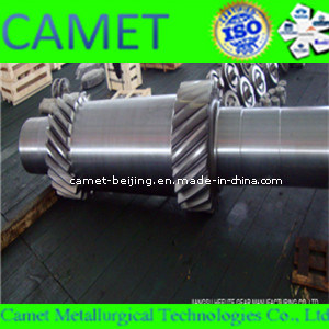 Herringbone Gear Shaft for Heavy Machine pictures & photos