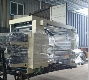 Flexo 4 Color Printing Machine Stack Printing Machine pictures & photos