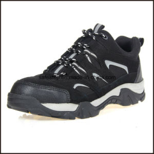 Genuine Leather Soft Sole Light Weight Safety Sport Shoes pictures & photos