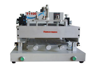Manual Solder Paste Screen Printer (T1100) pictures & photos
