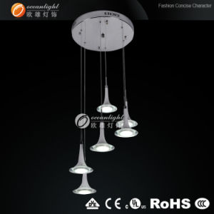 Made in China LED Light, Cheap Acrylic Chandelier Lighting. LED Lamp (OM88184-6B) pictures & photos