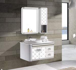 Hot Selling Modern Style Aluminum Bathroom Cabinet (T-9709) pictures & photos