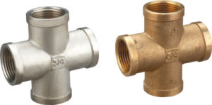 Brass Cross Pipe Fittings (329005) pictures & photos