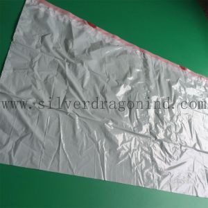 Biobased/Biodegradable Garbage Bag with Drawstring on Roll pictures & photos