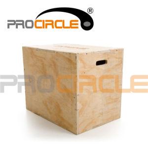 Gym Equipment Wooden Plyometric Box Set (PC-BP1002) pictures & photos