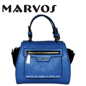 China Supplier Genuine Leather Handbags Shoulder Handbags (1603-11) pictures & photos