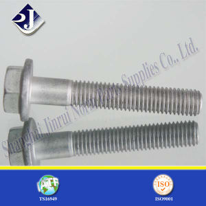 Dacromet Plated Hex Flange Bolt pictures & photos