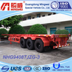 3 Axles Skeleton Semi Trailer (NHG9408TJZG-3C)