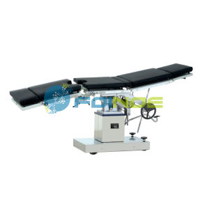 3001d Multifunctional Surgical Operation Table (manual & two side control) pictures & photos
