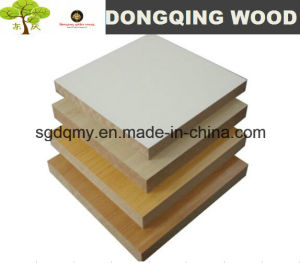 White Melamine Laminated/Faced/Coated MDF Board pictures & photos