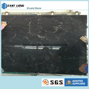 Marble Color Quartz Slab Building Material for Solid Surface/ Kitchen Top pictures & photos