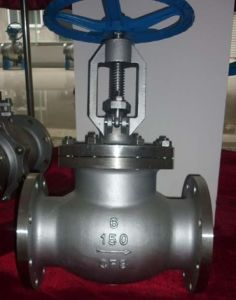 Stainless Steel Flanged Globe Valve (J41W-150LB) pictures & photos