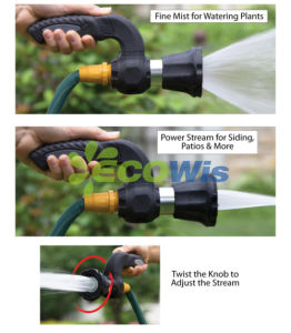 Mighty Blaster Fireman′s Hose Sprayer Nozzle pictures & photos