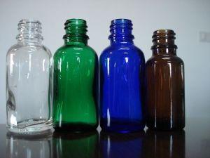 Screwed Tubuler Glass Bottle for Dropper (18-400)