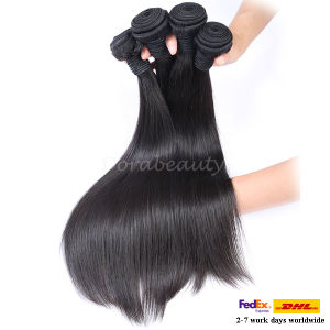 Wholesale Unprocessed Virgin Peruvian Straight Human Hair pictures & photos