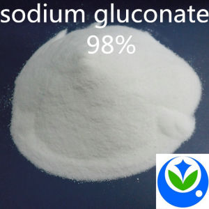 White 98% Technical Sodium Gluconate, Chemical Additives