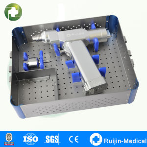 Surgical Battery Powered Orthopedic Cannulated Bone Drill pictures & photos