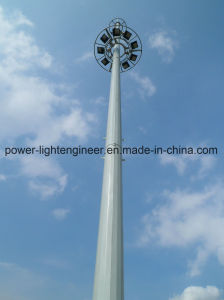 Steel Street Light Telecom GSM Antenna Monopole Tower pictures & photos