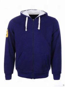 Custom Cotton/Polyester Hoodies Sweatshirt of Fleece Terry (F019) pictures & photos