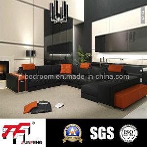 2016 Elegant Leather Sofa Jfu-5 pictures & photos