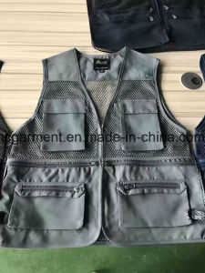 Stock Clothing, Very Cheaper Fishing Vest for Man. Women, Angling Vest pictures & photos