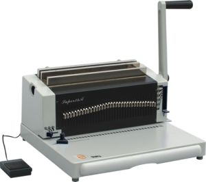 Manual Wire Binding Machine for A3 A4punching/Binding (SUPER34) pictures & photos