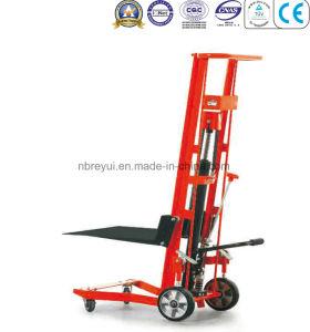 340kg (4-wheeled Platform) Manual Lift Truck pictures & photos