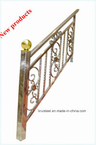Coloured Stainless Steel Pipe for Handrail pictures & photos