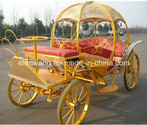 Electric Wedding Pumpkin Horse Carriage pictures & photos