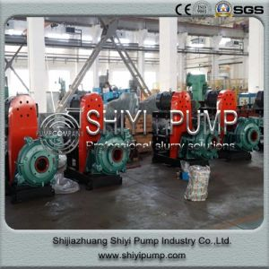 Hot Sale Heavy Duty Water Treatment Rubber Lined Tailings Centrifugal Pump pictures & photos