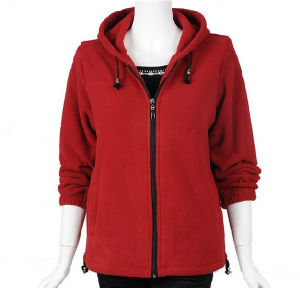 Polar Fleece Zipper Hoody Women Fashion Outerdoor Jacket (FY-0624) pictures & photos