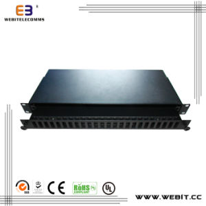 24 Way Patch Panel with Sc Duplex Slot pictures & photos