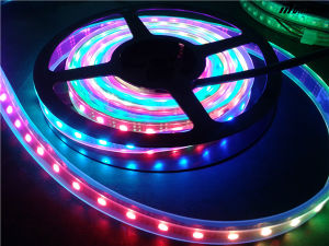 DC5V Waterproof Ws2812b RGB Flexible LED Strip Light