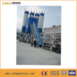 Stationary Tower Type Concrete Mixing Station Concrete Mixing Plant pictures & photos