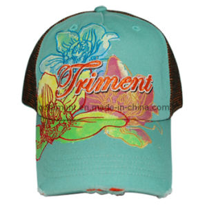 Constructed Screen Print Embroidery Twill Sport Baseball Cap (TRSDB12) pictures & photos