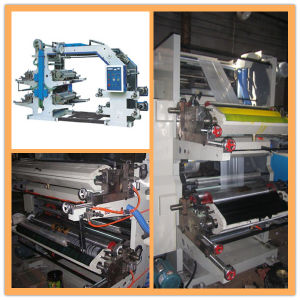 Four Color Flexographic Printing Machine pictures & photos