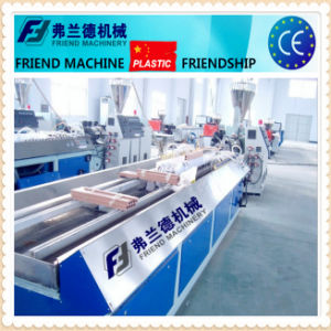 PVC Window Profile Extrusion Line with CE Certification pictures & photos