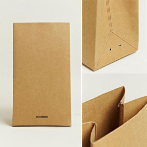 Custom Kraft Shopping Paper Bag Fk-162 pictures & photos