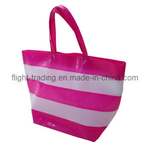 Clear PVC Lady Beach Handbags pictures & photos