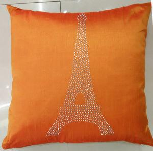 Hand-Made Decorative Pillow Diamond Ironing Decorative Cushion (XPL-52) pictures & photos