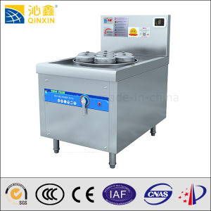 380V Stainless Steel Seven Holes Induction Steamer Cooker pictures & photos