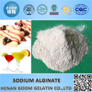 High Quality Pure Bone Sodium Alginate for Drinks pictures & photos