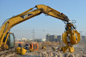 Excavator Grapple, Excavator Log and Stone Grab, Excavator Grab pictures & photos