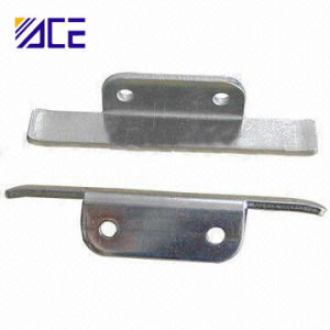 Custom Metal Stamping Steel Brackets with Zinc Plating pictures & photos