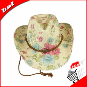 Beautiful Printing Cowboy Hat, Paper Hat pictures & photos