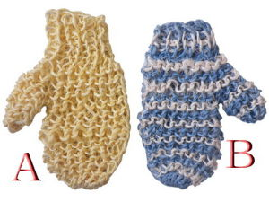 Back Exfoliating Sisal Glove Bath Scrubber (JMC-327D) pictures & photos