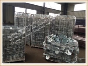 Galvanized Formwork Scaffolding Prop Forkhead pictures & photos
