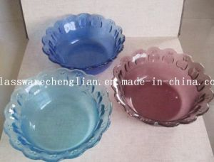 Solid Color Small Glass Plate (P-06) pictures & photos