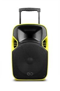 New Outdoor Theater Audio USB Trolley Speaker with Projection pictures & photos