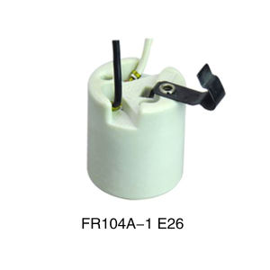 E26 Ceramic Lamp Holder (FR104A-1) pictures & photos